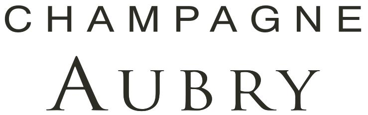 logo de la maison de champagne Aubry