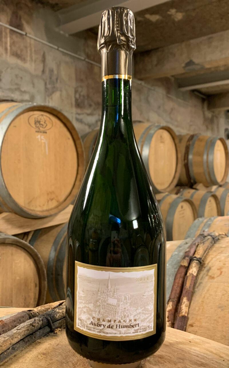 Bouteille de Champagne Aubry de Humbert Millésime 2014