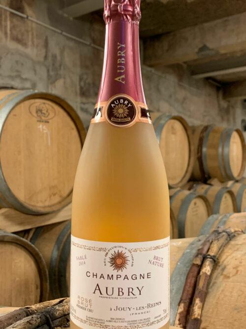 Bouteille de Champagne Sablé Rosé Millésime 2015